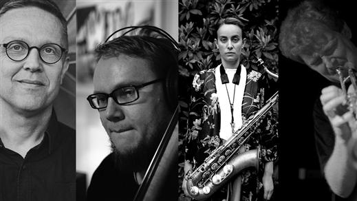 Bild för Jazz i Malmö: Svensson, Wättring, Bergström, Danem, 2018-01-30, Inkonst