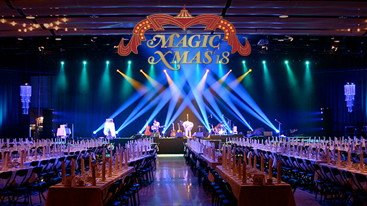 Bild för MagicXmas - Julshow, 2018-11-28, Victoriahallen