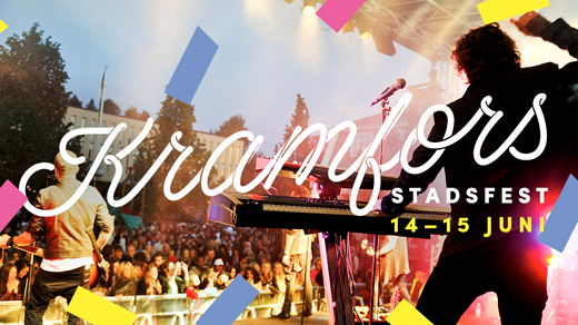 Bild för Kramfors Stadsfest 2019, 2019-06-14, Kramfors Torg