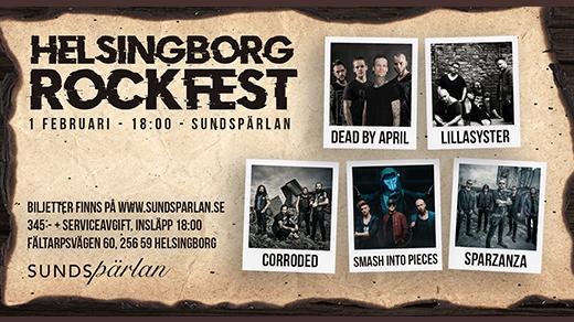 Bild för Helsingborg Rockfest 1/2 -19, 2019-02-01, Sundspärlan