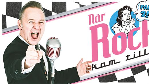 """Bild för """"När Rocken kom till Sveg"""" Part 2, 2019-03-16, Kulturhuset Glada Hudik"""
