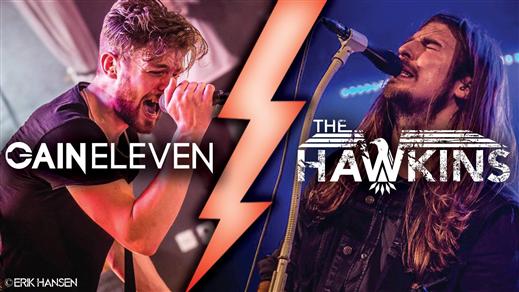 Bild för The Hawkins + Gain Eleven, 2016-10-28, Palatset