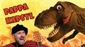 Jagad av en T-Rex