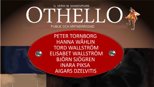 Bild för OTHELLO, 2016-10-01, Improvisation & Co