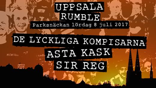 Bild för Uppsala Rumble, 2017-07-08, Parksnäckan i Uppsala Stadsträdgård