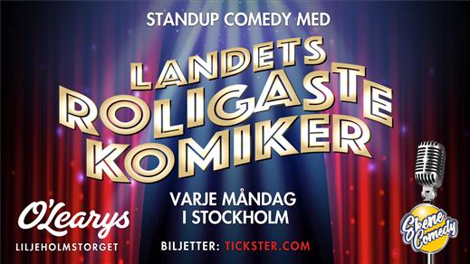 Bild för Stand-Up varje måndag i Stockholm, Liljeholmen!, 2021-10-25, Liljeholmstorget