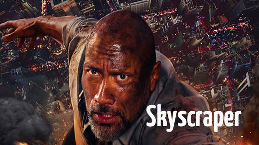 Bild för Skyscraper  Premiär, 2018-07-13, Biosalongen Folkets Hus