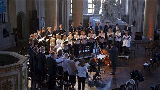 Bild för Gustaf Sjökvists kammarkör 25 år, 2019-11-16, Ersta kyrka