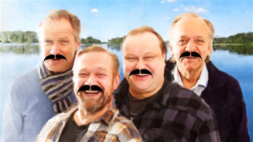 Bild för Live på bio: Män i mogen ålder/Vanhoja Poikia, 2018-11-23, Kulturhuset Finspång
