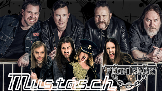 Bild för Mustasch och Frontback, 2018-10-20, Halmstad Live