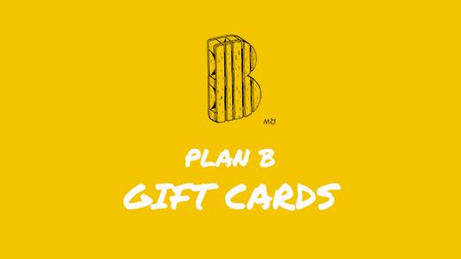 Bild för Plan B Gift Cards, 2020-03-18, Plan B - Malmö