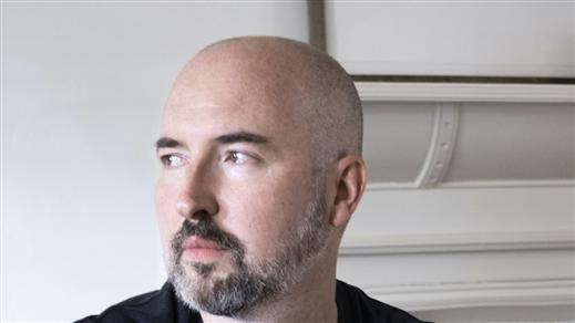Bild för Författarscen med Douglas Stuart, 2021-08-22, Författarscenen på Malmö Stadsbibliotek