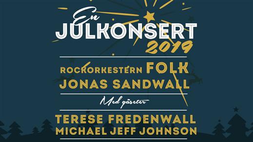 Bild för En Julkonsert 2019 / FOLK & Sandwall + gäster, 2019-12-01, Tranås, Brunnsparkskyrkan