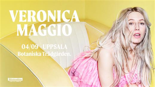 Bild för Veronica Maggio | Uppsala, 2020-09-04, Botaniska Trädgården