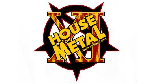 Bild för House of Metal 2017 - 2-dagars 3-4/3, 2017-03-03, Umeå Folkets Hus