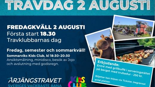 Bild för 2 augusti - Fredagskväll, 2019-08-02, Årjängstravet