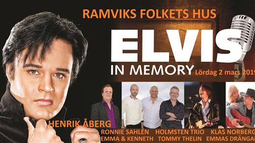 Bild för Elvis in Memory, 2019-03-02, Ramviks Folkets Hus