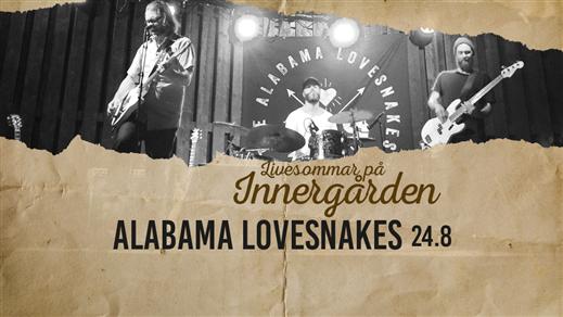 Bild för Alabama Lovesnakes, 2017-08-24, Nöjesfabriken