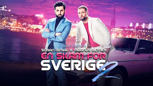 """Bild för """"EN SKAM FÖR SVERIGE 2"""" - BETNÉR & ISMAIL, 2016-10-09, Hebeteatern, Folkets Hus Kulturhuset"""