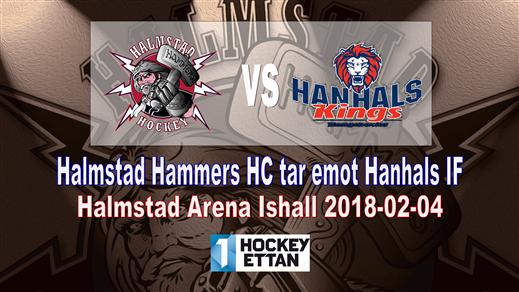 Bild för Halmstad Hammers HC - Hanhals IF, 2018-02-04, Halmstad Arena