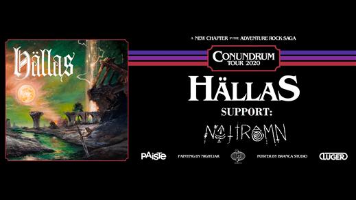 Bild för Hällas + Nattramn - Live i Kristallbaren, 2020-02-08, Nöjesfabriken