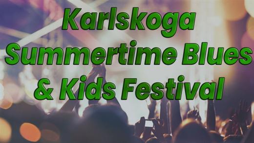 Bild för KARLSKOGA SUMMERTIME BLUES & KIDS FESTIVAL, 2020-07-31, Udden vid näset