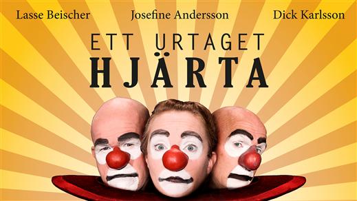 """Bild för """"Ett urtaget hjärta"""" med 123 Schtunk, 2019-04-26, Landskrona Teater"""