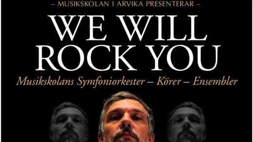 Bild för We will rock you 17.30, 2018-11-25, Stora Konsertsalen Musikhögskolan Ingesund