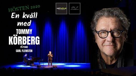 Bild för En kväll med Tommy Körberg, 2020-11-08, Hjalmar Bergman Teatern