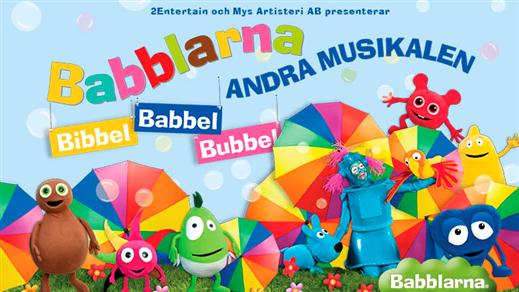 Bild för Bibbel Babbel Bubbel - Babblarna Andra Musikalen, 2019-05-12, Intiman