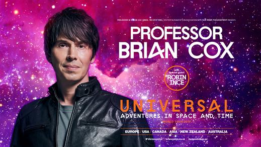 Bild för Professor Brian Cox-ADVENTURES IN SPACE & TIME, 2019-10-15, Oscarsteatern