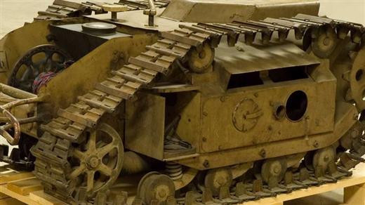 Bild för Robotfarkoster i krig, 2019-04-09, Armémuseum
