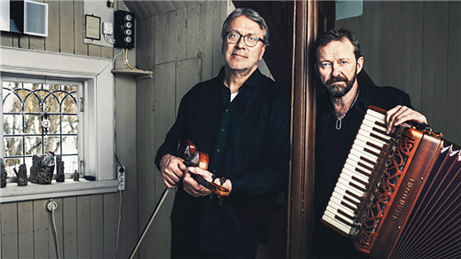 Bild för Bengan Janson och Per Gudmundson, 2020-04-18, Ås Föreningshus