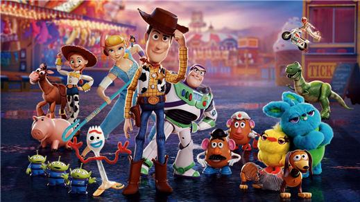 Bild för Toy Story 4 2D (Sv. tal), 2019-09-01, Kulturhuset i Svalöv