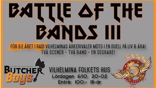 Bild för Battle of the Bands, 2018-10-06, Östgården