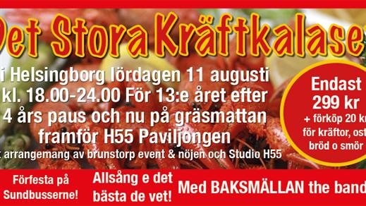 Bild för Det Stora Kräftkalaset - INSTÄLLT, 2018-08-11, Parapeten