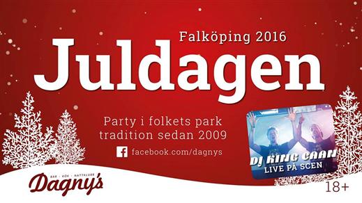 Bild för Juldagen folketspark 2016 (18+), 2016-12-25, Folkets park Falköping