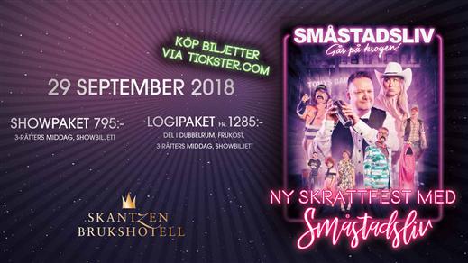 Bild för Småstadsliv går på krogen - 29 september, 2018-09-29, Skantzen Brukshotell