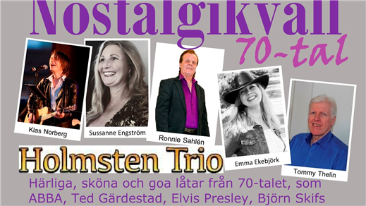 Bild för Nostalgikväll 70-tal, 2020-11-07, Ramviks Folkets Hus