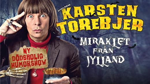 Bild för Karsten Torebjer - Miraklet från Jylland, 2018-09-19, Storsjöteatern
