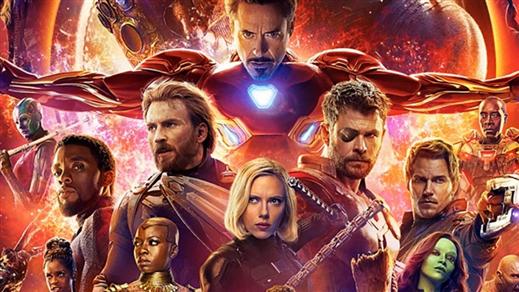 Bild för Avengers: Infinity War 3D, 2018-04-25, Järpenbion