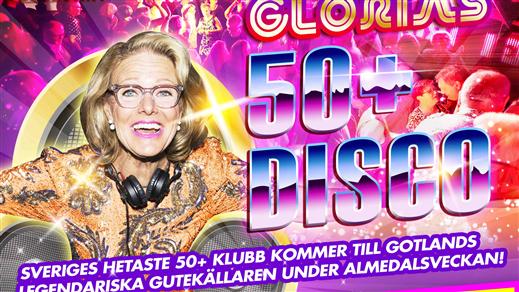 Bild för Glorias 50+ DISCO GOTLAND 4 juli 2018, 2018-07-04, Gutekällaren