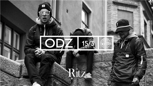 Bild för ODZ Ritz, 2019-03-15, The Ritz