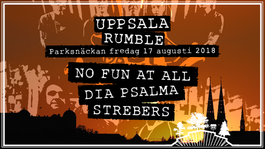Bild för Uppsala Rumble, 2018-08-17, Parksnäckan, Stadsträdgården