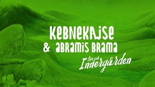 Bild för Kebnekajse + Abramis Brama - Live på Innergården, 2019-07-26, Nöjesfabriken
