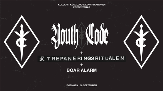 Bild för Youth Code + Trepaneringsritualen - Fylkingen 30/9, 2016-09-30, Fylkingen