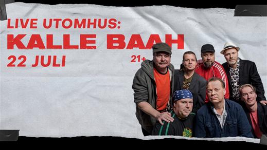 Bild för Kalle Baah live 22 Juli 2021, 2021-07-22, Hugo Nattklubb