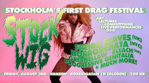 Bild för STOCKWIG — Stockholm's First Drag Festival!, 2018-08-03, Kraken