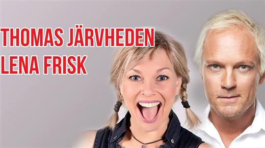 Bild för Thomas Järvheden och Lena Frisk Stand Up, 2017-02-03, Charles Dickens Pub & Restaurang