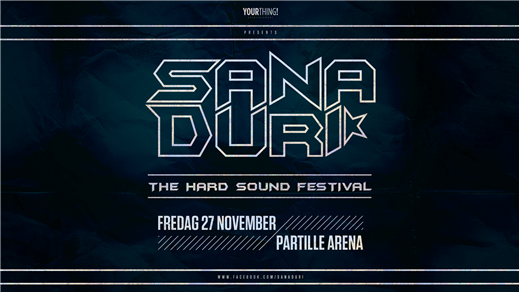 Bild för Sana Duri - The Hard Sound Festival, 2020-11-27, Partille Arena